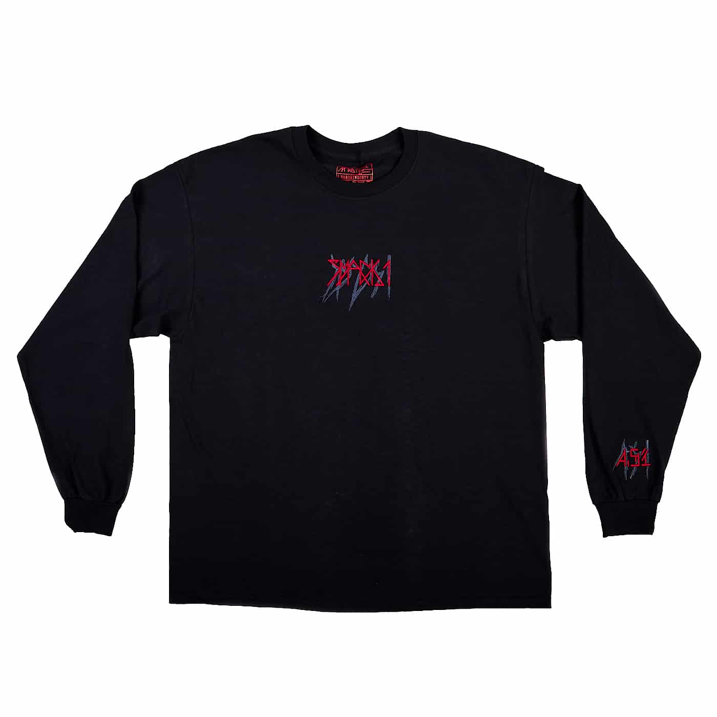 SMACK 1 BLACK LONG SLEEVE
