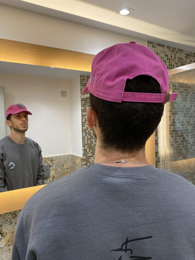 Hotel Collection - Chimera Strapback Raspberry