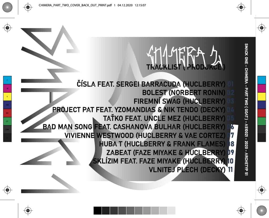 SMACK ONE - CHIMERA 2 (GOAT) CD
