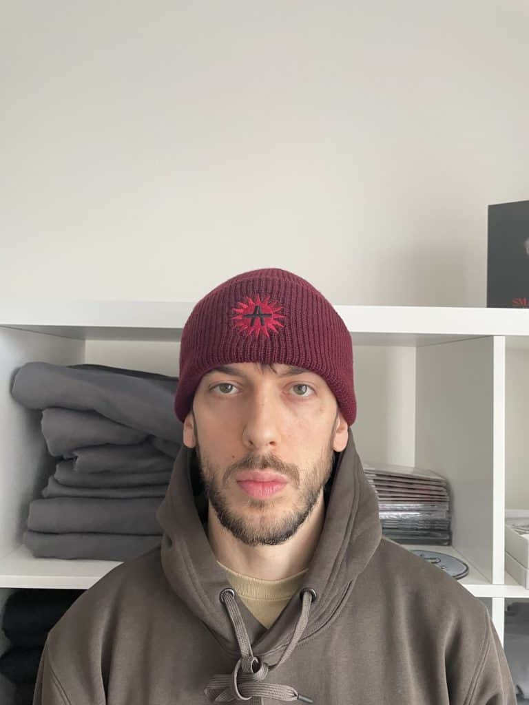 Army Of 51 Peace Beanie RED